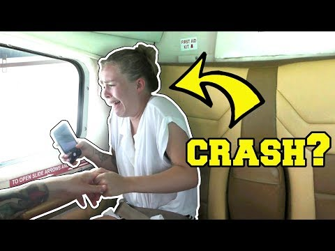 WE ALMOST DIED IN A PLANE CRASH!!!