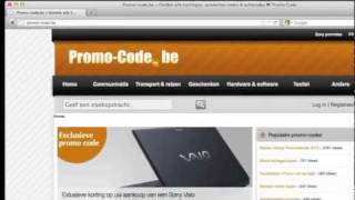 Sony Voucher Kortingscode