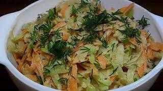Очень вкусный салат из редьки, проще не бывает.