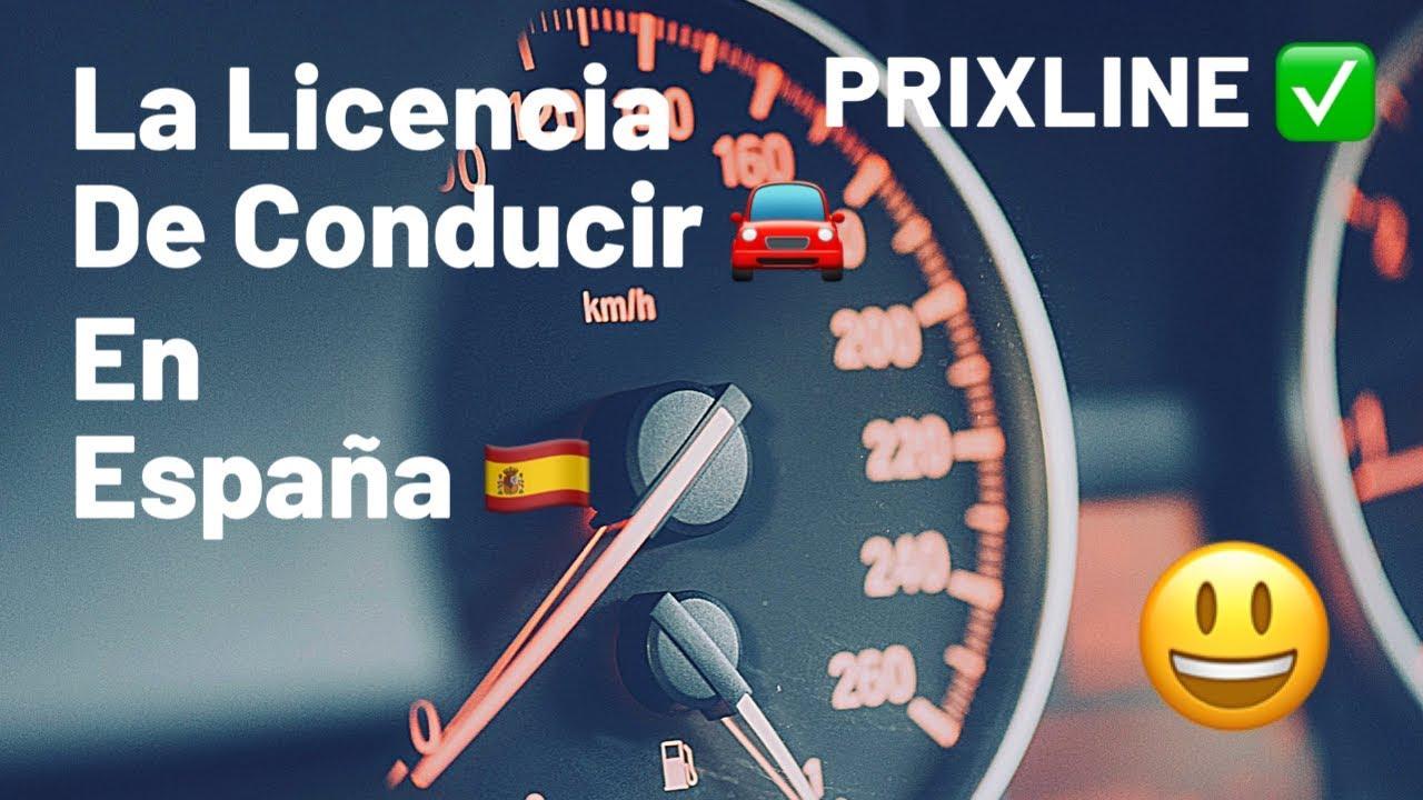 PRIXLINE ✅ Canje del Permiso de CONDUCIR 🚘 en España 🇪🇸