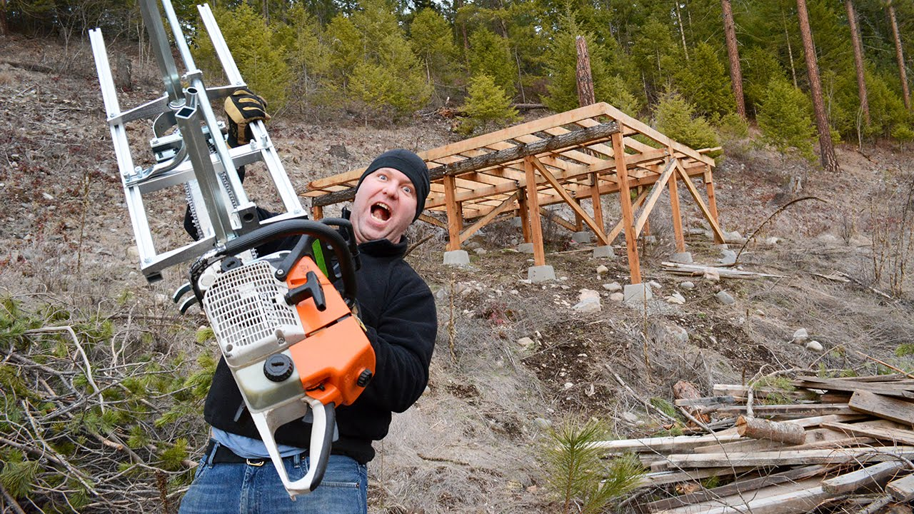 How to Assemble a Granberg Alaskan Chainsaw Mill MKIII ...