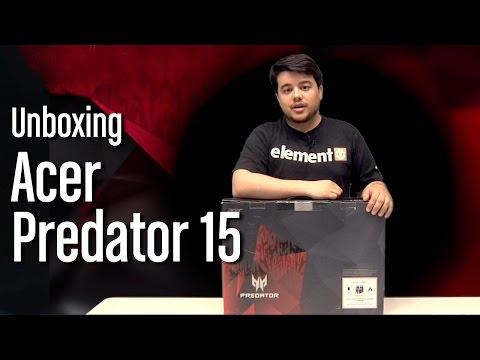 Unboxing gaming: Así es el ACER Predator 15