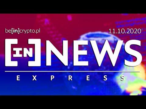 CBDC za darmo, 50mln w BTC, nieruchomości w blockchain? - [in]NEWS Express - 11.10.2020