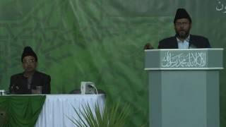 Majlis Ansarullah National Ijtema 2016 Day 1 Speech by Nadeemur Rehman