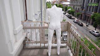"""В Самаре впервые проходит художественная акция """"На балконе"""", инициатором которой стал музей Модерна"""