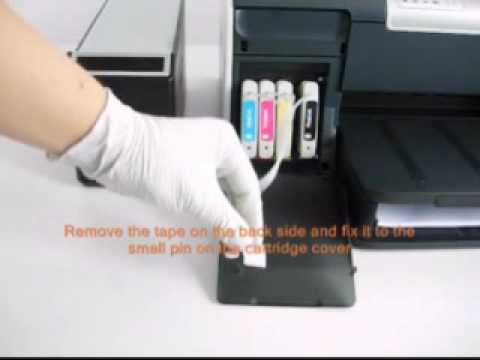 Continuous Ink System For Hp Inkjet Printers Hp 88 Youtube