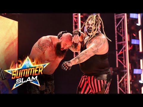 """Braun Strowman and """"The Fiend"""" Bray Wyatt battle backstage: SummerSlam 2020 (WWE Network Exclusive)"""