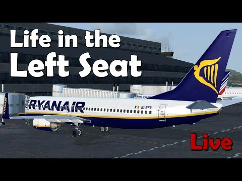 Life in the Left Seat LFMN - EIDW (Nice to Dublin)