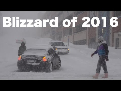 The Blizzard of 2016 | Bethlehem, PA | Part 1