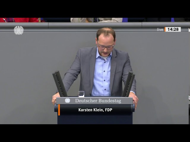 Karsten Klein, FDP: Rede in der Aschlussdebatte zum Haushaltsentwurf 2021