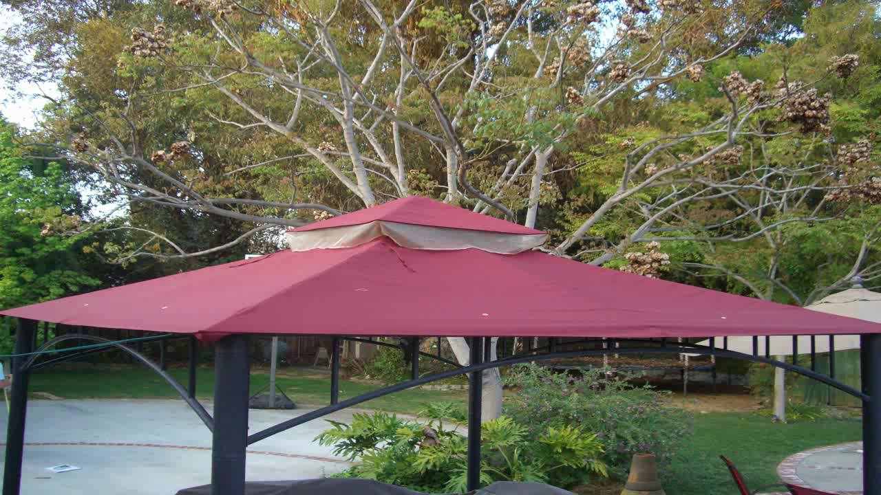 Garden Winds Madaga Gazebo Replacement Canopy RipLock 350 Will Only Fit the & Garden Winds Madaga Gazebo Replacement Canopy RipLock 350 Will ...