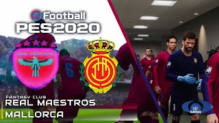 PES 2020 Gameplay | Real Maestros vs. Mallorca