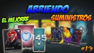 """Halo 5 Guardians   """"Abriendo Suministros #13""""   Los MEJORES PACKS"""