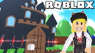 👻🏰 Haunted Castle! Roblox: MeepCity (Part 1) Dungeon & Bedroom
