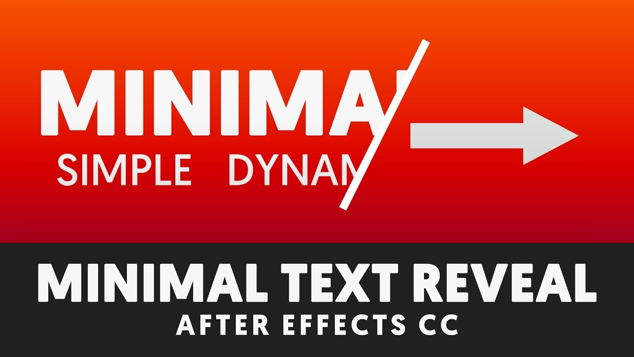 Revealing Text with Shape Layers - After Effects Tutorial