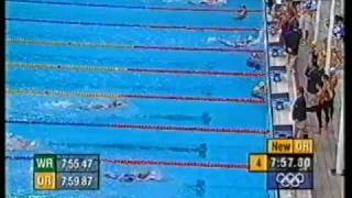 2000 | Australia Olympic Silver | Womens 4x200 Free Relay | ONeill Rooney Thomson Thomas | 2 of 2