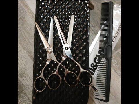 Парикмахерские ножницы с AliExpress. KUMIHO