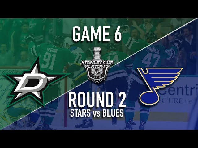 Dallas Stars vs St Louis Blues | Round 2 | Game 6 | Stanley Cup Playoffs 2019