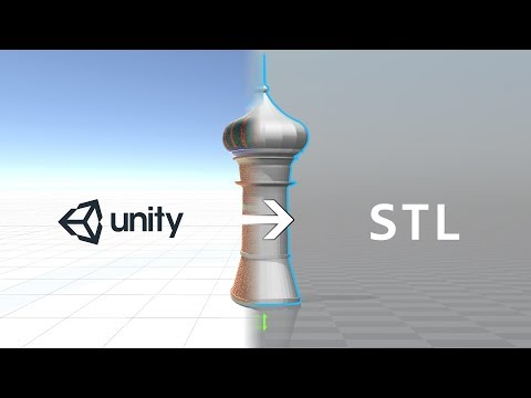 Exporting 3D Printable Models From Unity
