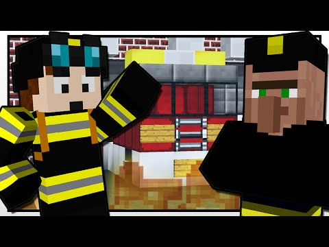 Minecraft | THE FIREFIGHTER MISSION!! | Custom Mod Adventure
