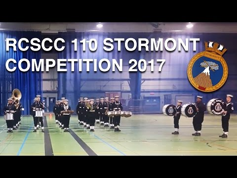 RCSCC STORMONT BAND REGIONALS 2017 - 2ND PLACE