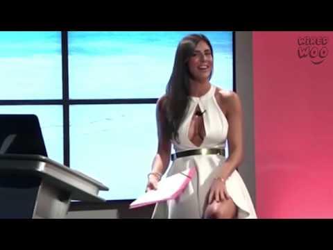 Italian News Presenter Barbara Francesca Ovieni Suffers Embarrassing Moments On Live TV! thumbnail