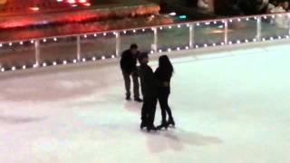 Brian proposes to Alyssa (Rockefeller Center, NYC)