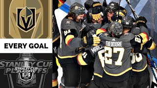 Vegas Golden Knights   Every Goal from the 2020 Stanley Cup Playoffs