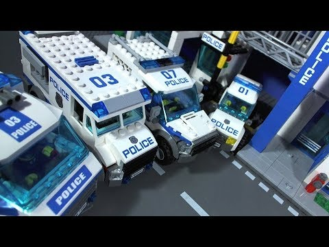 LEGO Police Stations Movie.