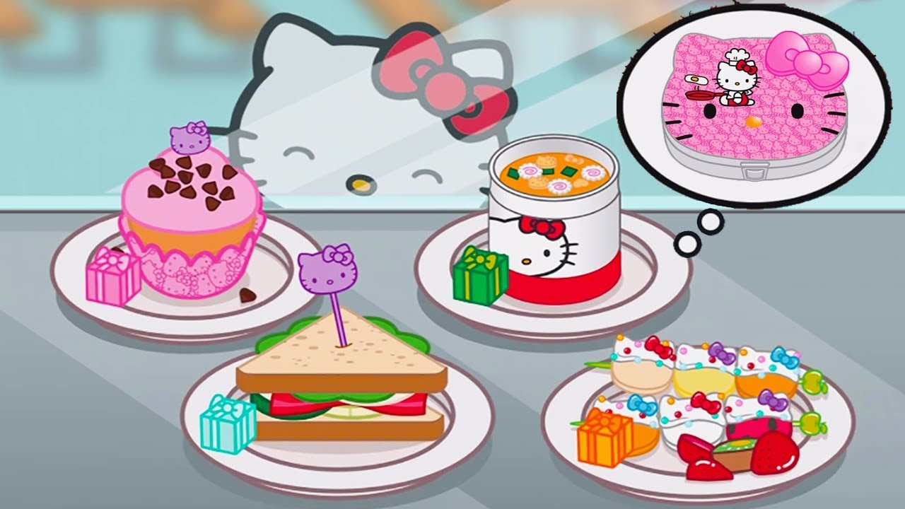 Fun Cooking Hello Kitty Lunchbox Kids Learn To Prepare Food