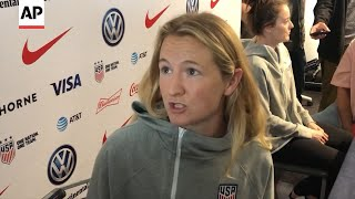 Samantha Mewis discusses Chile