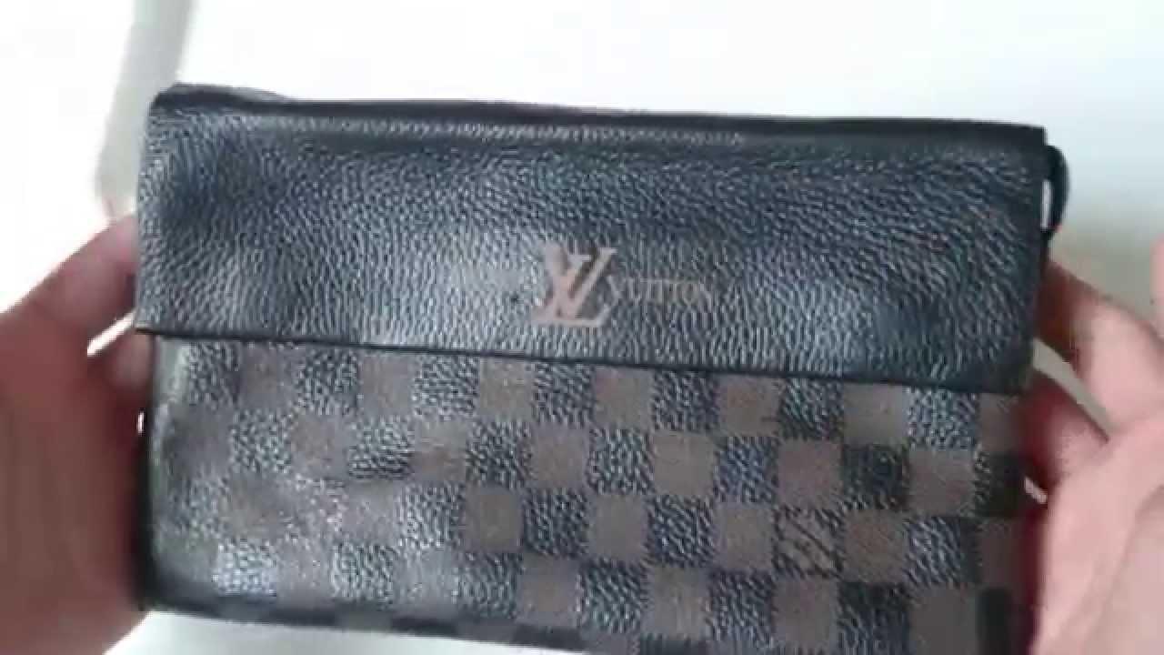 37a5fbe3dbc1 Обзор мужского клатча Louis Vuitton (луи виттон) - YouTube