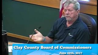B170620A -06/20/17 - Clay County MN Board of Commissioners