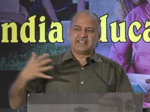 Innovate to Educate with Manish Sisodia