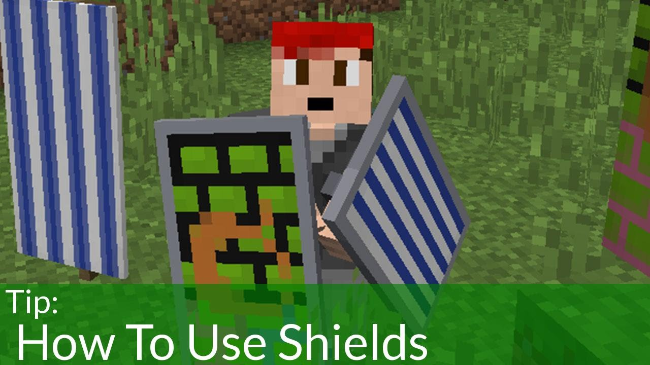 How To Use Shields in Minecraft 10.10 [OLD]