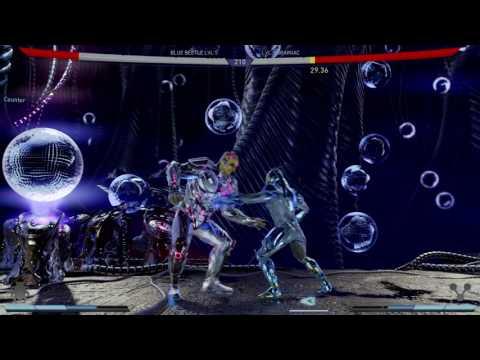 Injustice 2 Blue Beetle Vs. Brainiac