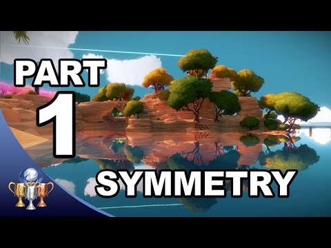 The Witness Walkthrough #1 -  Symmetry & Puzzle Solutions (Activating Symmetry Laser)