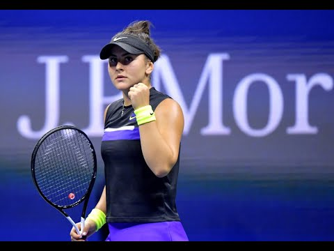 Bianca Andreescu Vs Taylor Townsend | US Open 2019 R4 Highlights