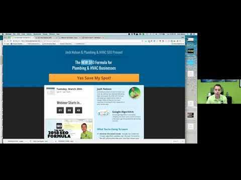 Webinar Promotion Setup Look over my shoulder