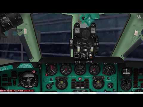✈ Tupolev Tu-134 Air Ukraine Flight: KEF - LHR