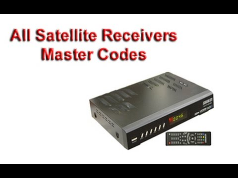 All SD Receivers, HD Receivers & Cline Sharing Receivers Master Codes by  Qureshi Sahab
