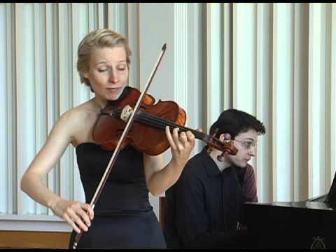 Helena Baillie and Michael Bukhman play Brahms Sonata Op. 120/1