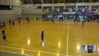 2019年IH ハンドボール 女子 2回戦 四天王寺(大阪)VS 昭和学院(千葉)
