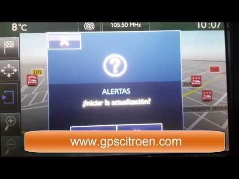 POIs Alertas y Radares GPS Peugeot Citroen