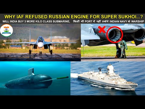 Indian Defence News:IAF Refused Russian Engine for Super Suk
