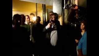 Αιτωλικό, 25 - 5 - 2014. Ομιλία-χαιρετισμός του Νίκου Καραπάνου, του νέου δημάρχου Ι.Π. ΜΕΣΟΛΟΓΓΙΟΥ