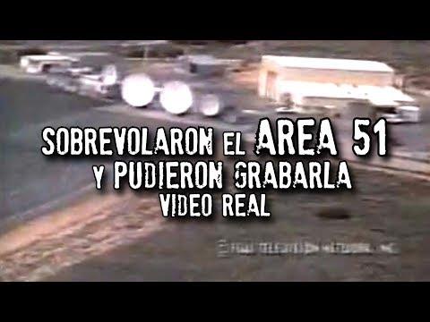 Sobrevolaron el AREA 51 y pudieron grabarla (PODRÍA SER BORRADO)