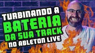 Turbinando a bateria da sua música no Ableton Live | Studio Time