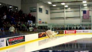 Zamboni (Olympia brand) Doing The Ice, Norway Savings Bank Arena. Auburn, Maine
