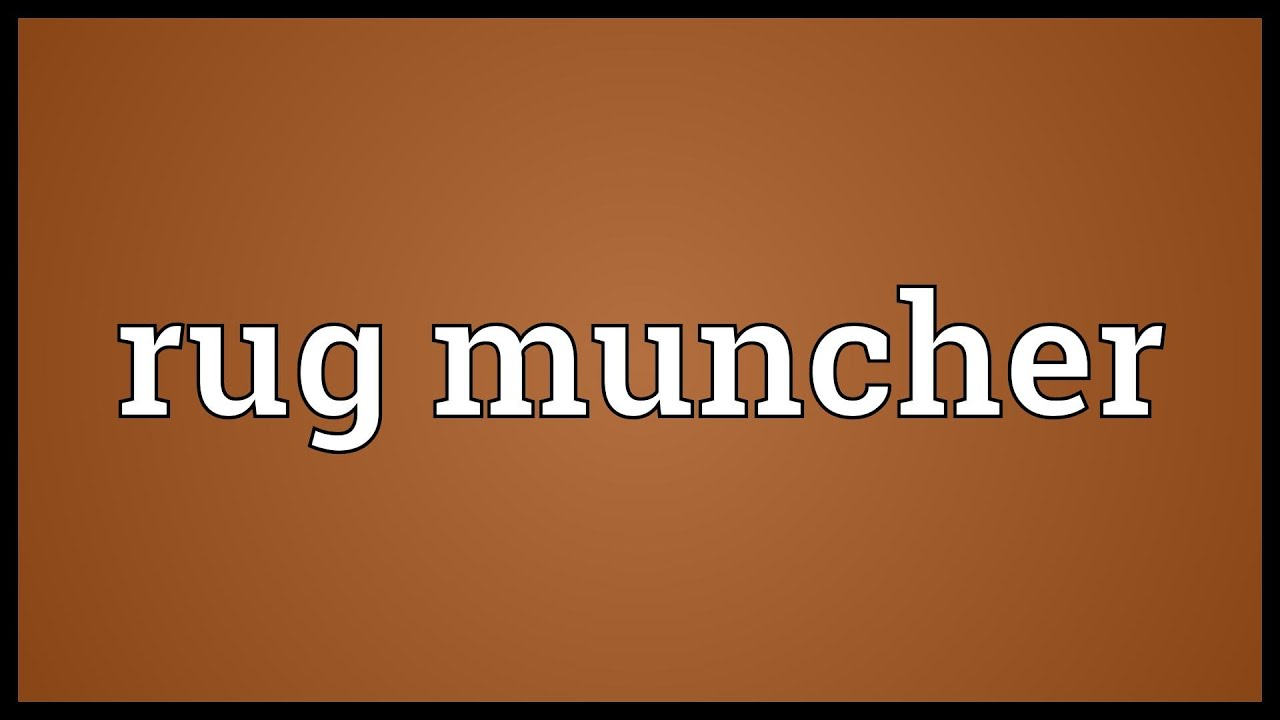 Rug muncher Meaning - YouTube
